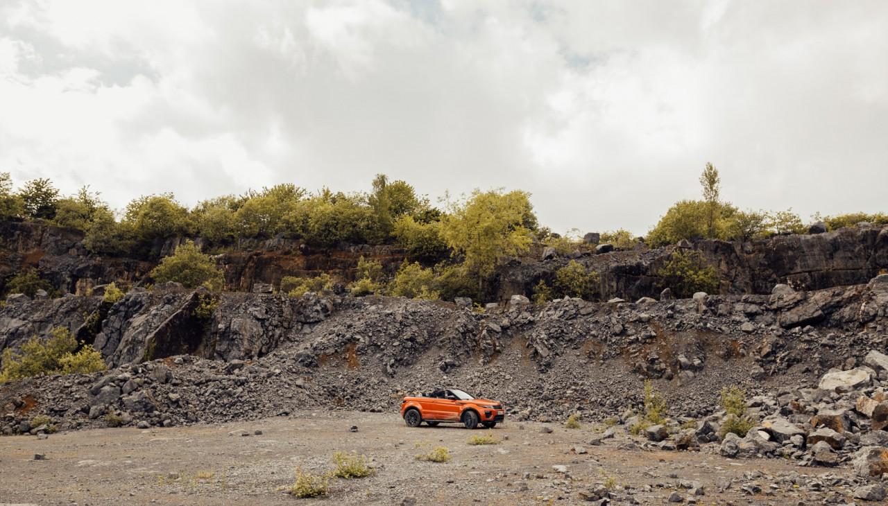 André Duhme Range Rover Evoque Cabrio