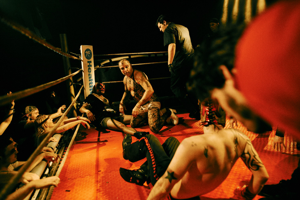 André Duhme Weird Wrestling Circus